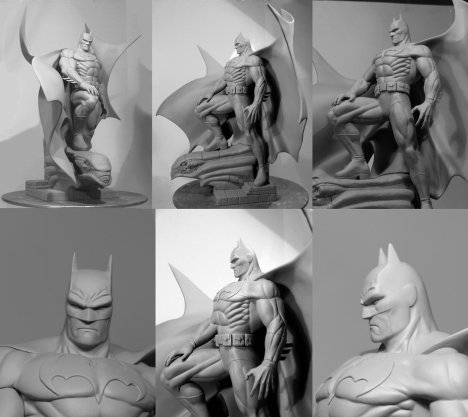 Polymer Clay_Batman